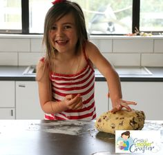 Baking With Kids    Chocolate Chunk Cookies   With  LeftOver Easter EGGS    Crazy Mother Crafter