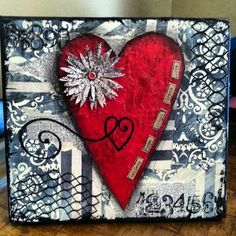 Original mixed media art by Michelle Pribble