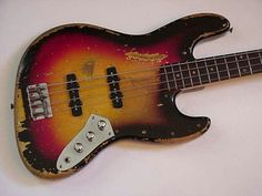 Jaco's fretted Bass...