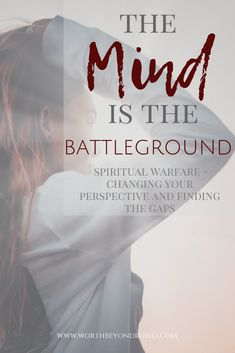 The mind is the battleground where our enemy attacks us most. How do you set a watchman on the wall to guard yourself from the enemy? Spiritual Attack, Spiritual Warfare, Spiritual Growth, Christian Living, Christian Life, Christian Women, Battle Of The Mind, Prayer Warrior, Christian Inspiration