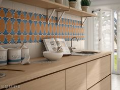 Equipe Caprice Deco Island Colours Matt Tiles, Flooring, Tile Patterns, Deco, Colorful Tile Floor, Wall And Floor Tiles, Patterned Floor Tiles, Wall Deco, Modern Floor Tiles