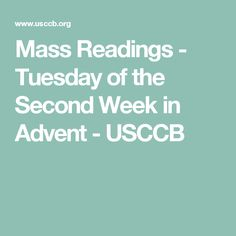 Mass Readings - Memorial of Saint Ambrose, Bishop and Doctor of the Church - USCCB Mass Readings, St Ambrose, Catholic Bishops, Daily Bible, Advent, Two By Two, Prayers, Memories, Tuesday