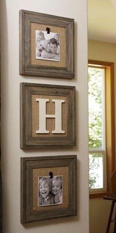 diy decorating with burlap | DIY / Easy burlap home decor!