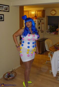 Katy Perry & Dots Candy - Homemade costumes for women BUT I WONT LOOK LIKE HER YOU KNOW?