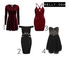 """""""christmas/New Year"""" by evelina-hagstrom on Polyvore featuring Wow Couture and Te Amo"""