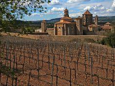 Poblet/ Catalunia in Spain