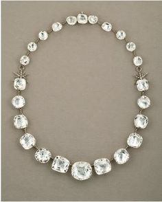 Rock Crystal and Diamond Necklace by H. Stern