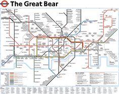The Great Bear - a lovely tubemap