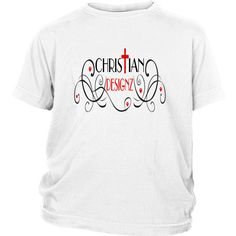 """Christian Designz District Youth Tee--Click link to see """"SIZING CHART"""" ---> https://cdn.shopify.com/s/files/1/1474/7084/files/Tee_Apparel_Sizing_Chart.pdf?8220756522297941279"""