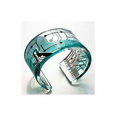 Cirkuita Jewelry Collection by Paola Mirai ❤ liked on Polyvore featuring jewelry, bracelets, bracelet jewelry y bracelet bangle