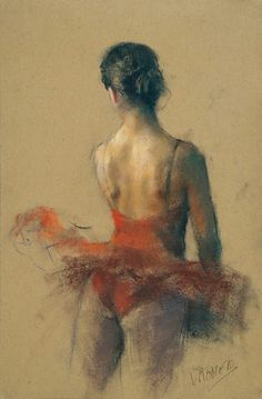 Pastel sketches, ballet dancer's back. by Vicente Romero Redondo Ballet Painting, Dance Paintings, Ballet Art, Figure Painting, Painting & Drawing, Dance Ballet, Crayons Pastel, Pastel Portraits, Pastel Art