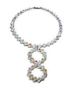 Jane crystal necklace donation to Madcap by themadcapheiress, $102.00 #madcap #madcapcharity