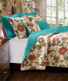 Look what I found on #zulily! Clearwater Quilt Set by Greenland Home Fashions #zulilyfinds