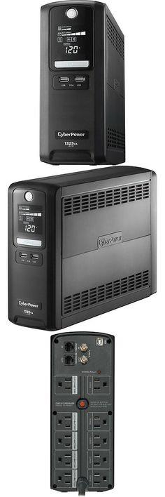 PC Emergency Power Backup Surge Protector UPS 850VA 510W AVR Computer Battery