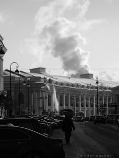 St Petersburg, Russia - 2011 - Snow on the roofs - @Wdemoustier