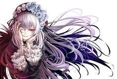 gothic anime | ... Rozen Maiden Suigintou Gothic Dress Anime Girls Fresh HD Wallpaper