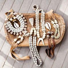 Seashell Jewelry, Seashell Necklace, Bohemian Jewelry, Jewelry Art, Beaded Jewelry, Beaded Necklace, Handmade Bracelets, Handmade Jewelry, Twine And Twig