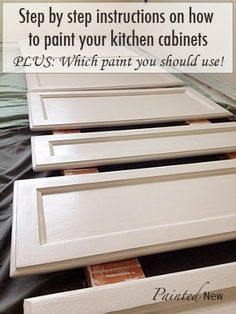 120 painted cabinet makeover using sherwin williams white duck includes step by step instructions and which materials to buy for best res
