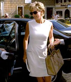 Lady Di in Gucci. I know she's not southern but I didn't know where else to pin her.