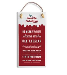 Geordie christmas rules plaque handmade in Newcastle North East gifts Before Christmas, Xmas, Merry, Newcastle, Handmade, Gifts, Design, Hand Made, Presents