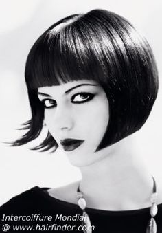 short bob for black hair