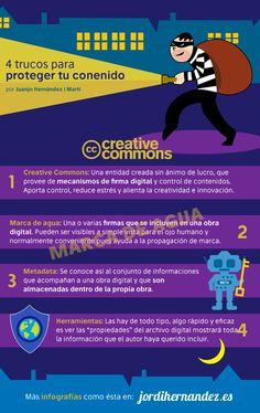 Hola: Una infografía con 4 trucos para proteger tu Contenido. Vía Jordi Hernández Un saludo