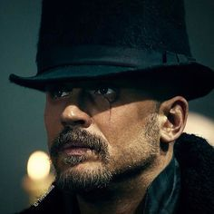 Tom Hardy +Chips Hardy create TABOO, stunning drama, Gothic and Dark. I have a use for you! God help us all. Can't wait for next series.