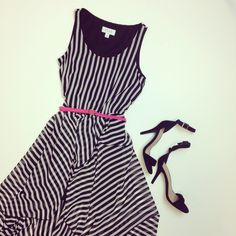 What's black and white and fabulous all over? This #dress, of course.