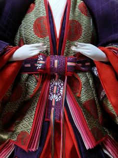 Japanese Colors, Heian Period, Kimono Design, Washi, Anime Art, Dolls, History, Kimonos, Puppets
