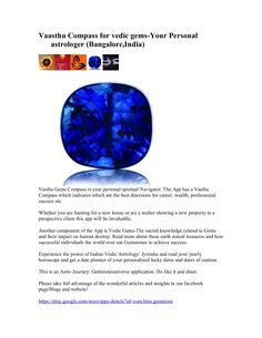 vaasthu-compass-for-vedic-gems by GemstoneUniverse via Slideshare