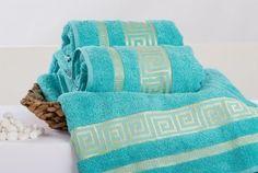Froté ručník ATHÉNA - tyrkysová 50x90 cm