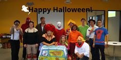 Happy from Colony Logic! We had some great this year. Who do you think had the best? Happy Halloween, Halloween Costumes, Office Parties, Colonial, Halloween Costumes Uk, Halloween Outfits