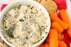 Kale and Artichoke Dip Final by laurenslatest, via Flickr