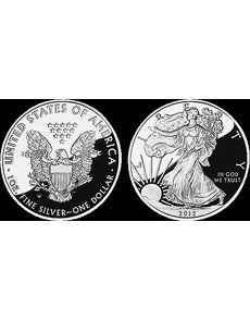 U.S. Mint officials announced July 25 that the per unit price for the Proof 2012-W American Eagle silver dollar was being reduced to $54.95.