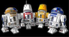 R2D2 and friends ! #Star Wars