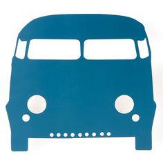 applique murale car lamp ferm living bleu