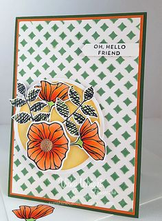 Female Card, Decorative Masks, Embossing Paste, Oh So Eclectic Bundle, Stampin' Up!