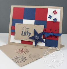 Stampin' Up! Fourth Of July
