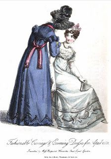 THE MIRROR OF FASHION FOR APRIL, 1821.
