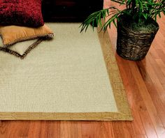 Great detail for a room that feels like paradise! Area rugs and runners available at Budget Blinds.