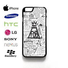fall out boy lyric Case for iPhone, iPod, Samsung Galaxy,HTC,LG,Sony,Nexus,Blackberry