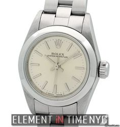 Rolex Oyster Perpetual No-Date Stainless Steel Ladies T Serial Ref. 67180 Price On Request