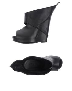 Rick Owens Wedges    i don't like wedges, but if i did.....these would be the ones for me