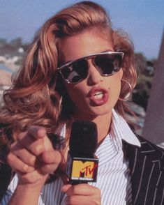 #FF @MTV days. See more inside my book #BecomingCindy!  by cindycrawford