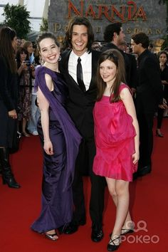 Anna Popplewell, Ben Barnes and Georgie Henley Actors at the Chronicles of Narnia Prince Caspian Film Premiere O2 Arena, London 06-19-2008 Photo by Neil Tingle-allstar-Globe Photos, Inc. 2008