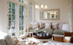 Tea Room - mirror, light, fashion, comfortable simple seating