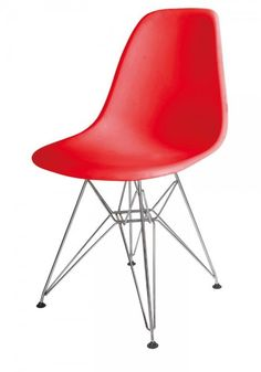 Modern Furniture for your-home-living room-dining room-Office-and-Bedroom-New-York Eiffel Chair-with-Metal Legs -available in-Black-Blue-Green-Red-Orange-and-White
