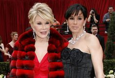 Thank you Joan for the red carpet and for the zillions of laughs ... happy for you that you at least got to go out on top, and that your girl got enveloped by how loved you are!  RIP Joan!