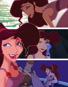 Meg is one of my favorite Disney people she is scared to fall in love again because of what happened with her boyfriend before but Hercules and meh are a god couple !!!!