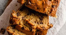 Peanut Butter Banana Bread   Brown Eyed Baker Peanut Butter Banana Bread, Banana Bread Recipes, Chocolate Chip Recipes, Quick Bread, Scones, Breads, Muffins, Sweets, Snacks